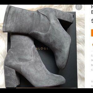 Halogen grey boots new